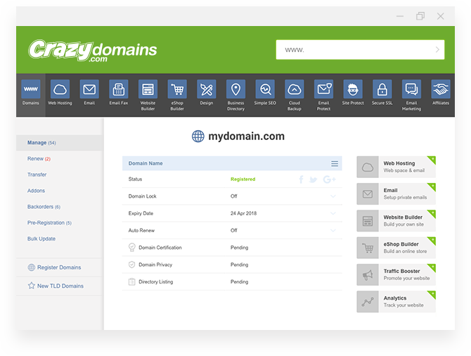 Domain Check - Domain Tools | Crazy Domains NZ