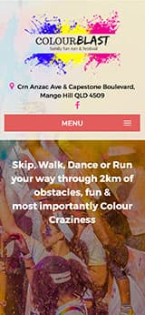 Colour Blast Web Design