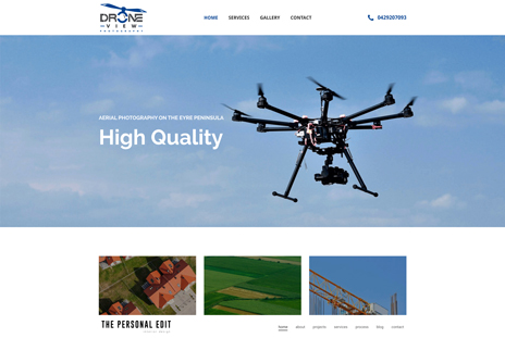 Drone View Web Design