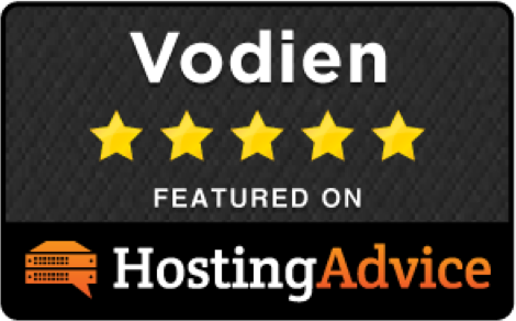 HostingAdvice.com badge