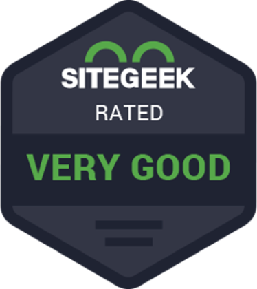 SiteGeek.com badge